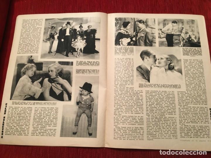 Cine: REVISTA FILM SELECTOS 1934 Shirley Temple Dorothy Dell Käthe von Nagy Ernestina Anderson - Foto 3 - 252777165