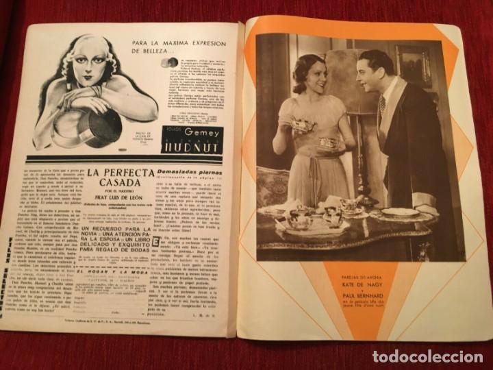 Cine: REVISTA FILM SELECTOS 1934 Shirley Temple Dorothy Dell Käthe von Nagy Ernestina Anderson - Foto 4 - 252777165