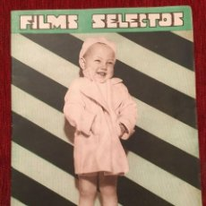 Cine: REVISTA FILM SELECTOS 1934 SHIRLEY TEMPLE BABY LE ROY CHARLES FARRELL MARTA EGGERTH. Lote 252777340