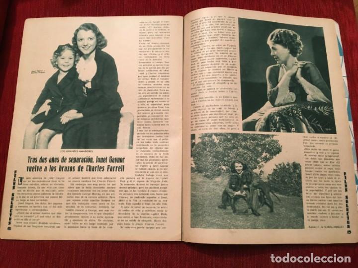 Cine: REVISTA FILM SELECTOS 1934 Shirley Temple Baby Le Roy Charles Farrell Marta Eggerth - Foto 2 - 252777340