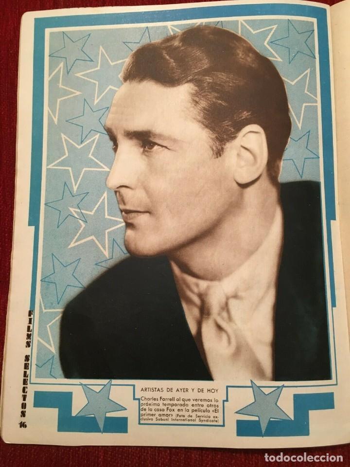 Cine: REVISTA FILM SELECTOS 1934 Shirley Temple Baby Le Roy Charles Farrell Marta Eggerth - Foto 3 - 252777340