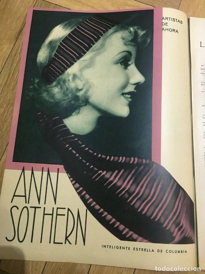 Cine: REVISTA FILM SELECTOS Shirley Temple Joan Crawford Ann Sothern Grace Moore Rochelle Hudson - Foto 4 - 252780575