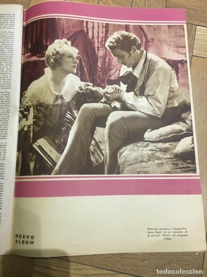Cine: REVISTA FILM SELECTOS Nancy Carroll Cover Charlot Elissa Landi Gloria Stuart Shirley Temple - Foto 6 - 252780660