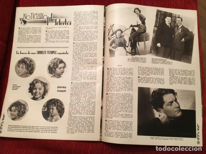 Cine: REVISTA FILM SELECTOS Shirley Temple Errol Flynn Rene Claire Eleanor Powell Grace Bradley - Foto 2 - 252781005