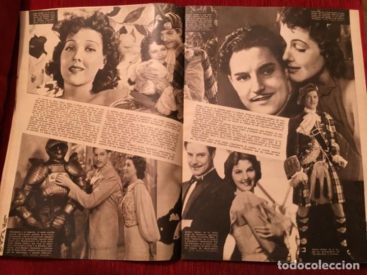Cine: REVISTA FILM SELECTOS Shirley Temple Errol Flynn Rene Claire Eleanor Powell Grace Bradley - Foto 4 - 252781005