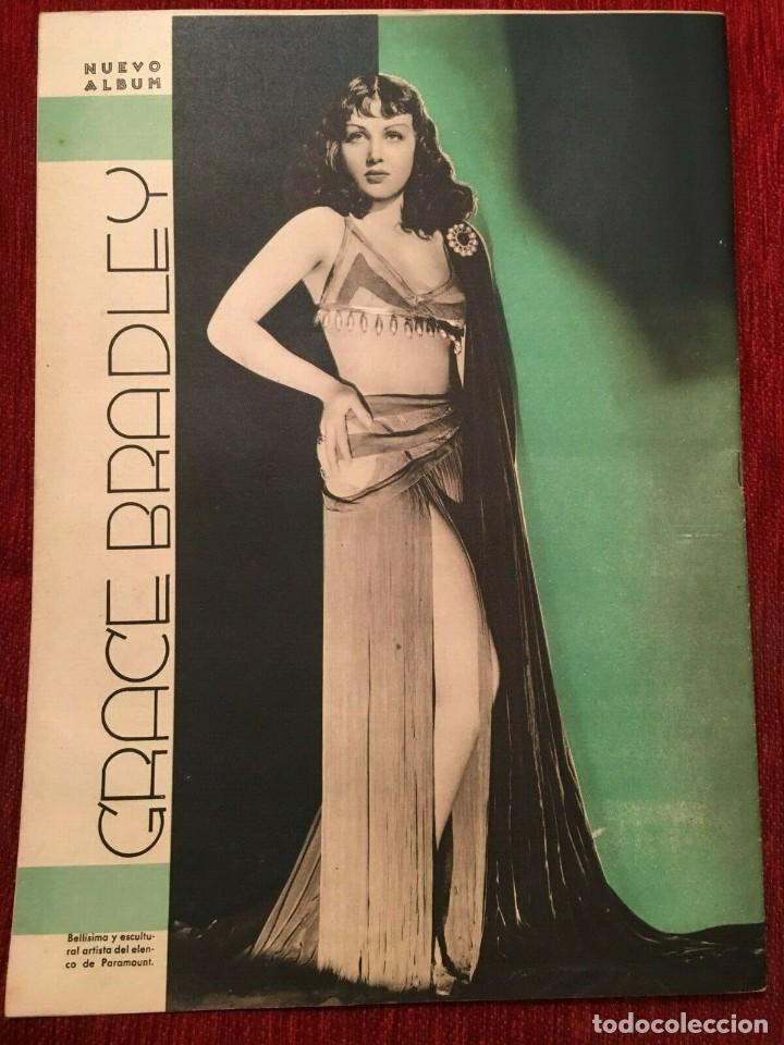Cine: REVISTA FILM SELECTOS Shirley Temple Errol Flynn Rene Claire Eleanor Powell Grace Bradley - Foto 6 - 252781005
