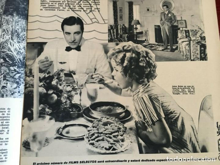 Cine: REVISTA FILM SELECTOS Shirley Temple on Cover Gail Patrick Merle Oberon Herbert Marshall - Foto 2 - 252781170