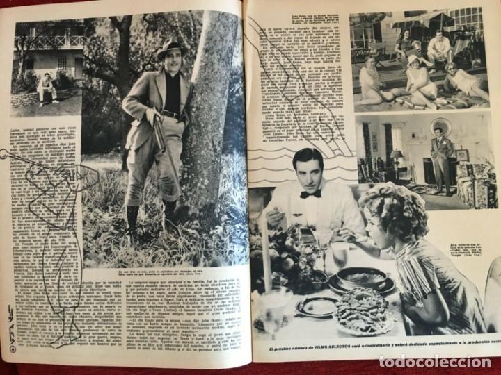 Cine: REVISTA FILM SELECTOS Shirley Temple on Cover Gail Patrick Merle Oberon Herbert Marshall - Foto 3 - 252781170