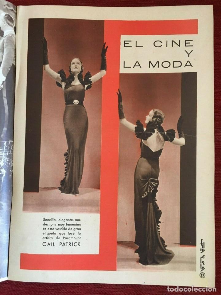 Cine: REVISTA FILM SELECTOS Shirley Temple on Cover Gail Patrick Merle Oberon Herbert Marshall - Foto 5 - 252781170