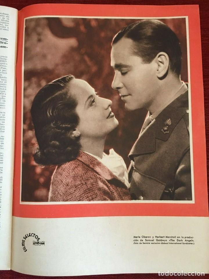Cine: REVISTA FILM SELECTOS Shirley Temple on Cover Gail Patrick Merle Oberon Herbert Marshall - Foto 7 - 252781170