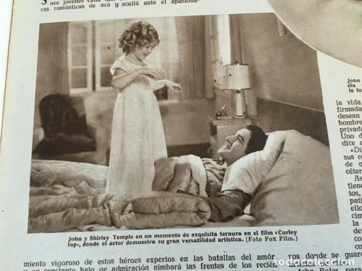 Cine: REVISTA FILM SELECTOS Shirley Temple on Cover Gail Patrick Merle Oberon Herbert Marshall - Foto 8 - 252781170