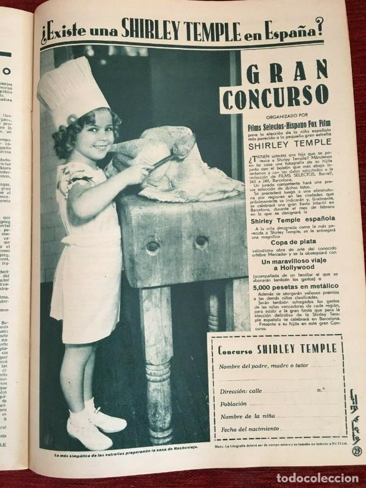 Cine: REVISTA FILM SELECTOS Shirley Temple Miriam Hopkins Josephine Hutchinson Ann Sothern 1936 - Foto 2 - 252781235