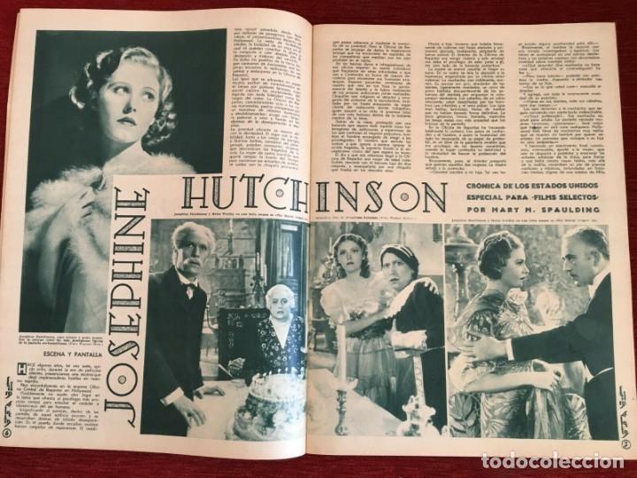 Cine: REVISTA FILM SELECTOS Shirley Temple Miriam Hopkins Josephine Hutchinson Ann Sothern 1936 - Foto 3 - 252781235