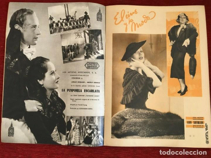Cine: REVISTA FILM SELECTOS Shirley Temple Miriam Hopkins Josephine Hutchinson Ann Sothern 1936 - Foto 4 - 252781235