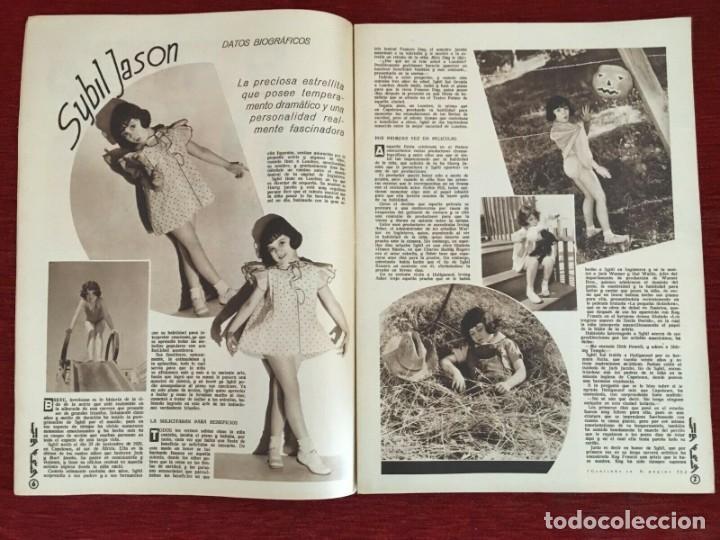 Cine: REVISTA FILM SELECTOS Shirley Temple Joan Crawford Margaret Lindsay Sybil Jason June Lang - Foto 2 - 252781310