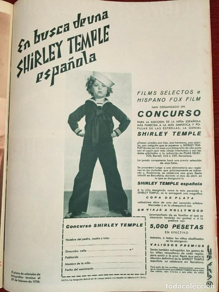 Cine: REVISTA FILM SELECTOS Shirley Temple Joan Crawford Margaret Lindsay Sybil Jason June Lang - Foto 3 - 252781310