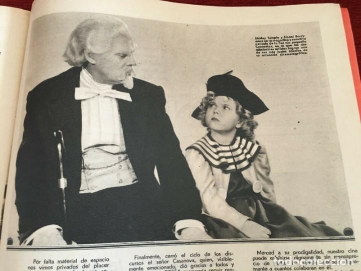 Cine: REVISTA FILM SELECTOS Patricia Ellis Shirley Temple Charles Laughton Becky Sharp Bette Davis - Foto 3 - 252782015