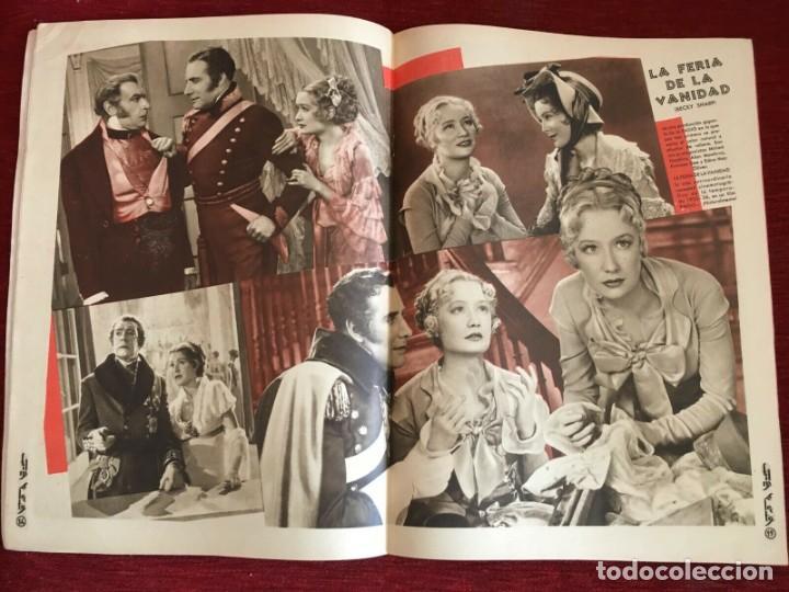 Cine: REVISTA FILM SELECTOS Patricia Ellis Shirley Temple Charles Laughton Becky Sharp Bette Davis - Foto 5 - 252782015