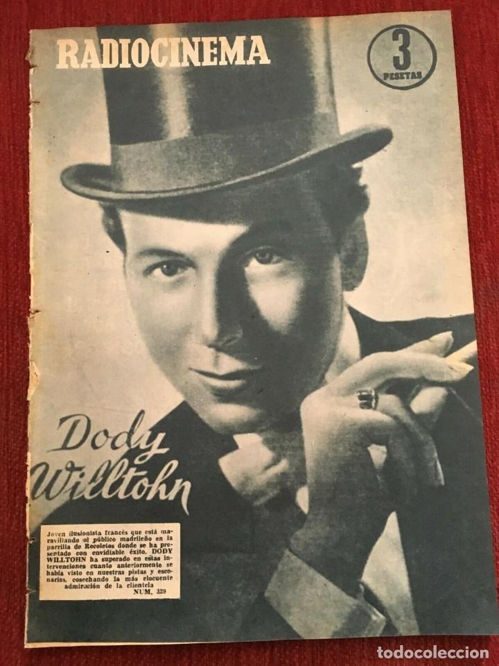 REVISTA RADIOCINEMA SHIRLEY TEMPLE DODY WILLTOHN SOFIA LOREN TONY CURTIS GINA LOLLOBRIDA (Cine - Revistas - Radiocinema)