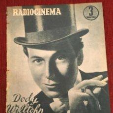 Cinema: REVISTA RADIOCINEMA SHIRLEY TEMPLE DODY WILLTOHN SOFIA LOREN TONY CURTIS GINA LOLLOBRIDA. Lote 252782125