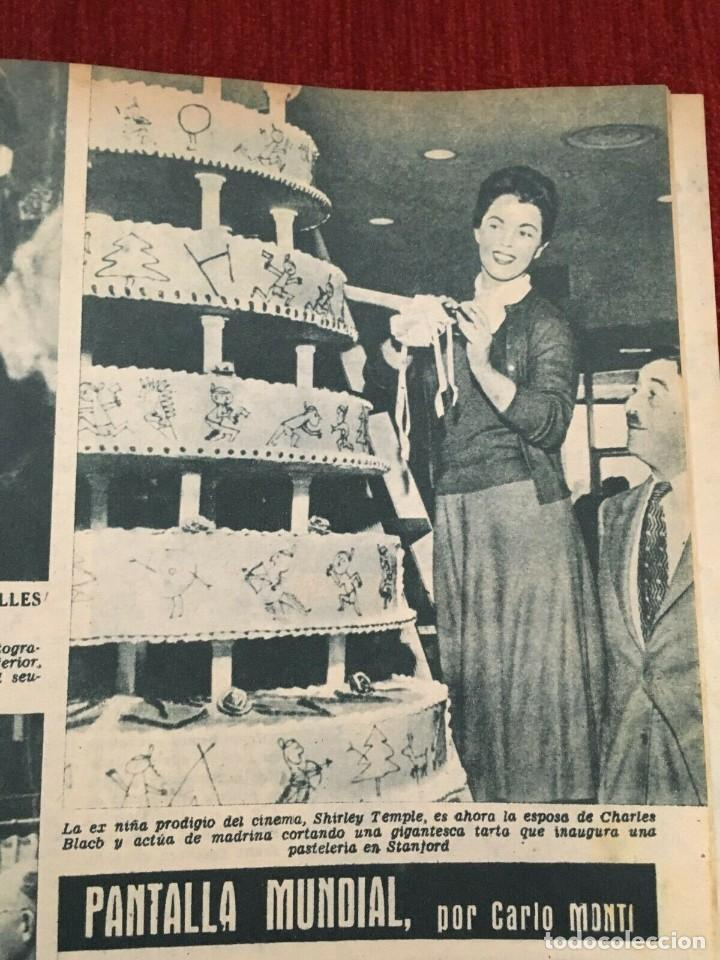 Cine: REVISTA RADIOCINEMA Shirley Temple Dody Willtohn Sofia Loren Tony Curtis Gina Lollobrida - Foto 2 - 252782125
