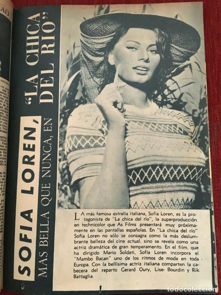 Cine: REVISTA RADIOCINEMA Shirley Temple Dody Willtohn Sofia Loren Tony Curtis Gina Lollobrida - Foto 3 - 252782125