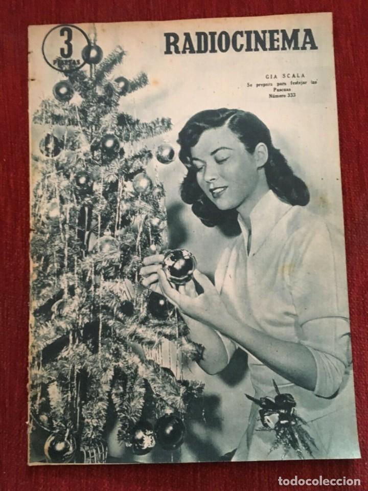 REVISTA RADIOCINEMA GIA SCALA ON COVER SHIRLEY TEMPLE LESLIE NIELSEN COLLEEN MILLER 1956 (Cine - Revistas - Radiocinema)