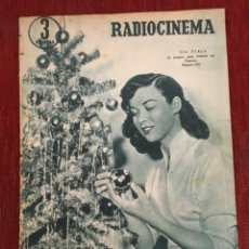 Cine: REVISTA RADIOCINEMA GIA SCALA ON COVER SHIRLEY TEMPLE LESLIE NIELSEN COLLEEN MILLER 1956. Lote 252782205