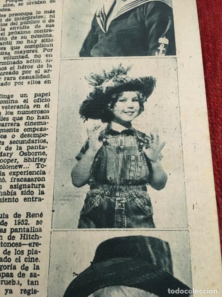 Cine: REVISTA RADIOCINEMA Gia Scala on Cover Shirley Temple Leslie Nielsen Colleen Miller 1956 - Foto 3 - 252782205