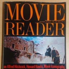 Cine: MOVIE READER · EDITED BY IAN CAMERON · NOVEMBER BOOKS LONDON, 1962 - 1963 - 1965 - 1972. Lote 252831190