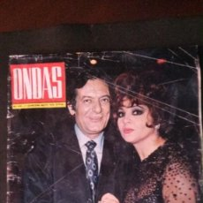 Cine: ONDAS 418-1970-SARA MONTIEL-BEATLES-DALÍ-CARMEN SEVILLA-FERIA DE SEVILLA-RAPHAEL-SERRAT. Lote 252971275