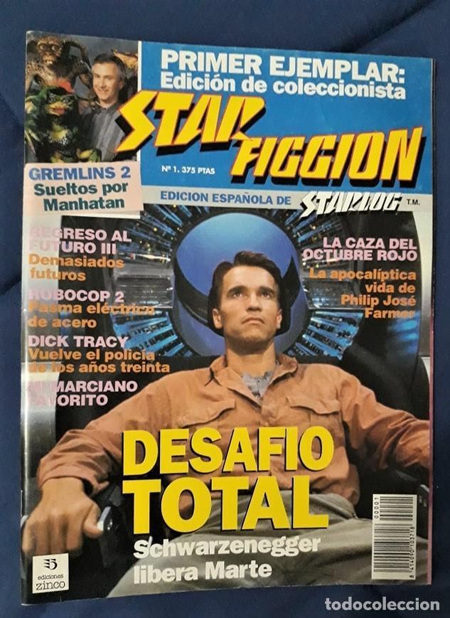 STAR FICCIÓN Nº 1 - ZINCO (Cine - Revistas - Star Ficcion)