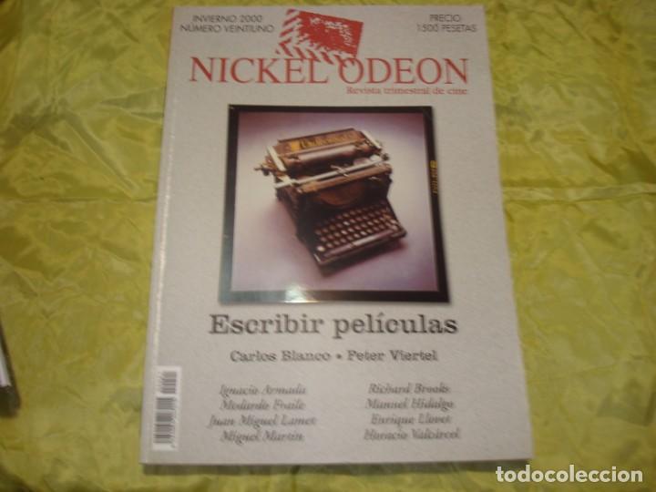 NICKEL ODEON Nº 21. INVIERNO 2000. ESCRIBIR PELICULAS. REVISTA DE CINE (Cine - Revistas - Nickel Odeon)