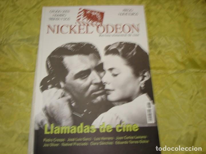 NICKEL ODEON Nº 32. OTOÑO 2003. LLAMADAS DE CINE. REVISTA DE CINE (Cine - Revistas - Nickel Odeon)