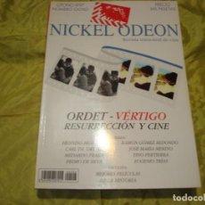 Cine: NICKEL ODEON Nº 8. OTOÑO 1997. ORDET-VERTIGO, RESURRECCON Y CINE. REVISTA DE CINE. Lote 253169790