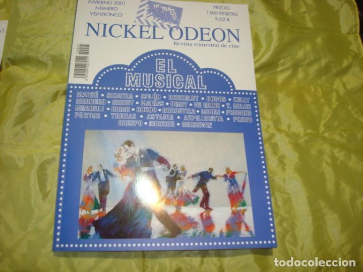NICKEL ODEON Nº 25. INVIERNO. 2001. EL MUSICAL. REVISTA DE CINE (Cine - Revistas - Nickel Odeon)