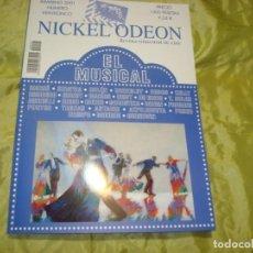 Cine: NICKEL ODEON Nº 25. INVIERNO. 2001. EL MUSICAL. REVISTA DE CINE. Lote 253170030