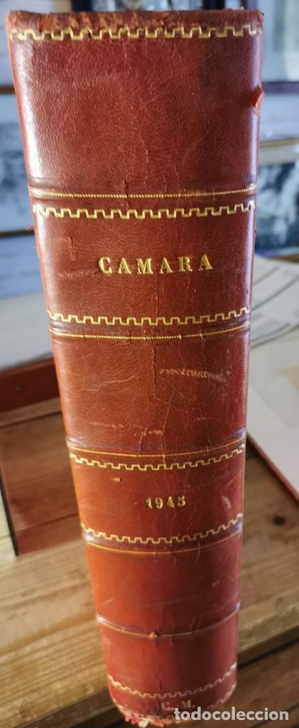 REVISTA CAMARA, ENCUADERNADA, AÑO 1945 COMPLETO, Nº 48 A 71, 24 REVISTAS (Cine - Revistas - Cámara)