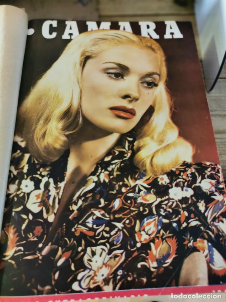 Cine: revista camara, encuadernada, año 1945 completo, nº 48 a 71, 24 revistas - Foto 3 - 253210455