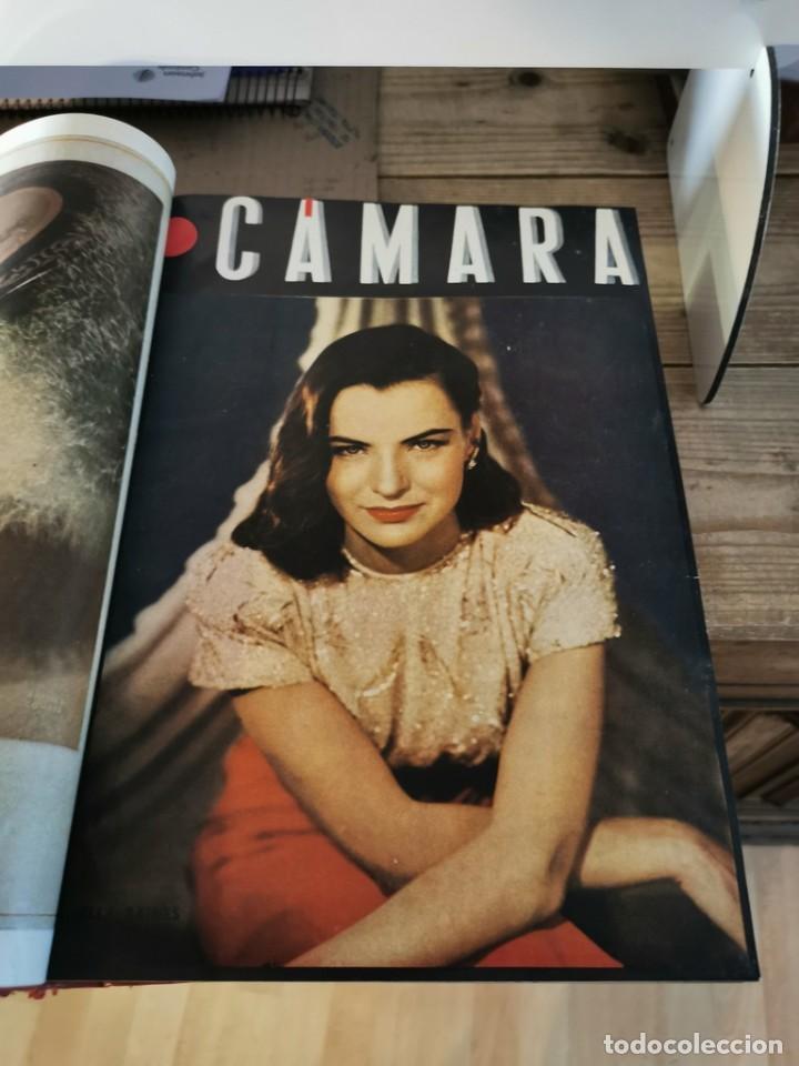 Cine: revista camara, encuadernada, año 1945 completo, nº 48 a 71, 24 revistas - Foto 4 - 253210455