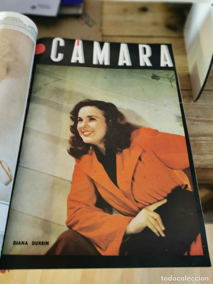 Cine: revista camara, encuadernada, año 1945 completo, nº 48 a 71, 24 revistas - Foto 5 - 253210455
