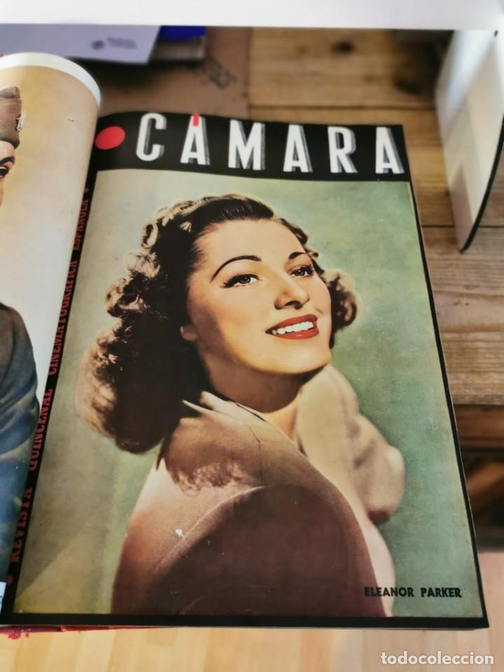 Cine: revista camara, encuadernada, año 1945 completo, nº 48 a 71, 24 revistas - Foto 6 - 253210455