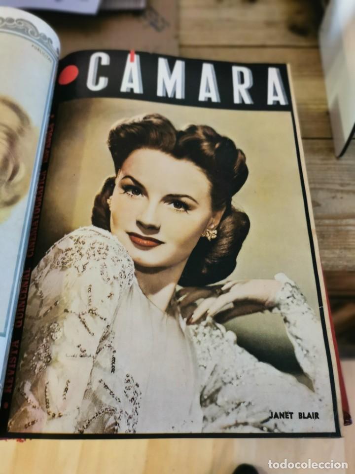 Cine: revista camara, encuadernada, año 1945 completo, nº 48 a 71, 24 revistas - Foto 7 - 253210455