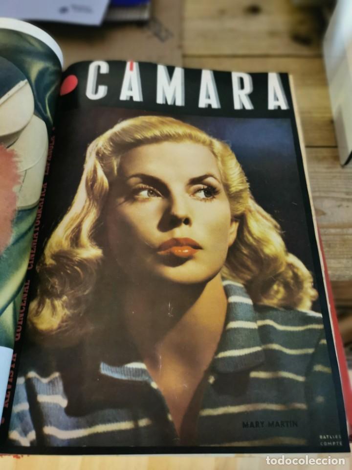 Cine: revista camara, encuadernada, año 1945 completo, nº 48 a 71, 24 revistas - Foto 8 - 253210455