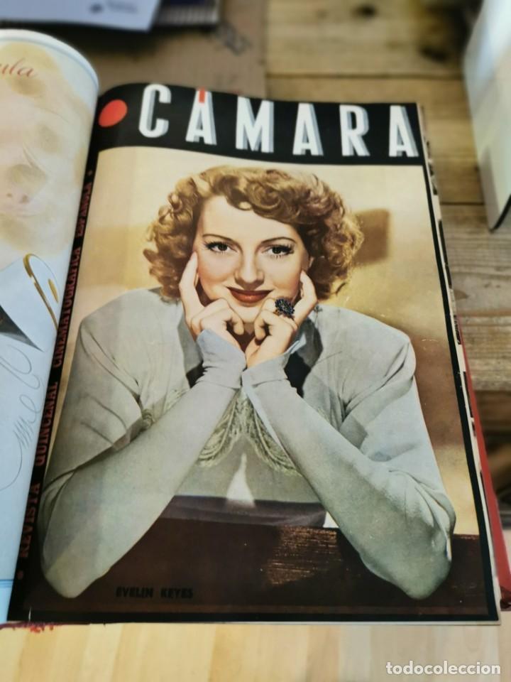 Cine: revista camara, encuadernada, año 1945 completo, nº 48 a 71, 24 revistas - Foto 9 - 253210455