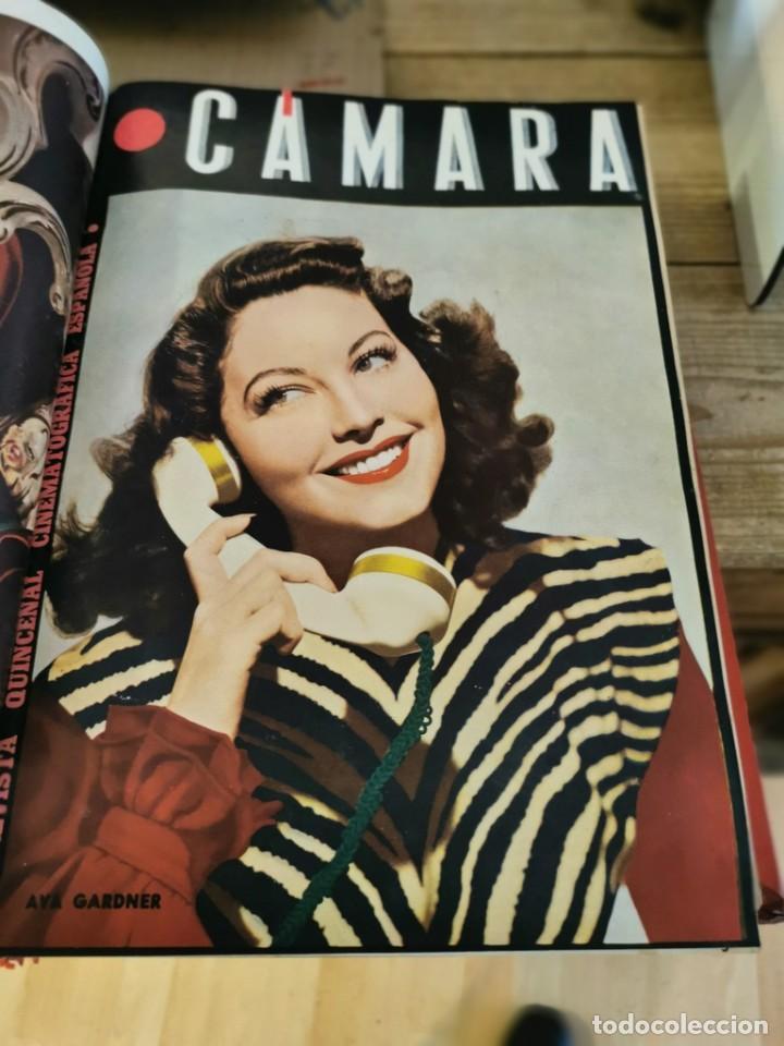 Cine: revista camara, encuadernada, año 1945 completo, nº 48 a 71, 24 revistas - Foto 10 - 253210455