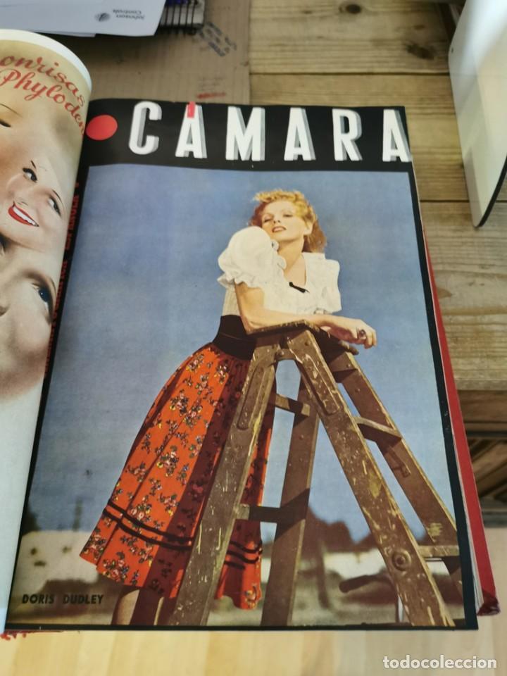 Cine: revista camara, encuadernada, año 1945 completo, nº 48 a 71, 24 revistas - Foto 11 - 253210455