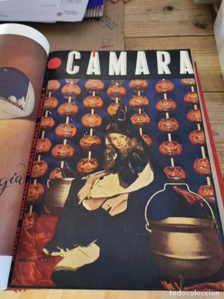 Cine: revista camara, encuadernada, año 1945 completo, nº 48 a 71, 24 revistas - Foto 12 - 253210455
