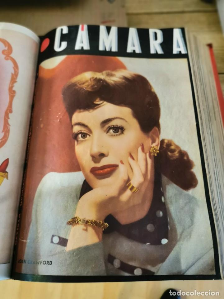 Cine: revista camara, encuadernada, año 1945 completo, nº 48 a 71, 24 revistas - Foto 13 - 253210455