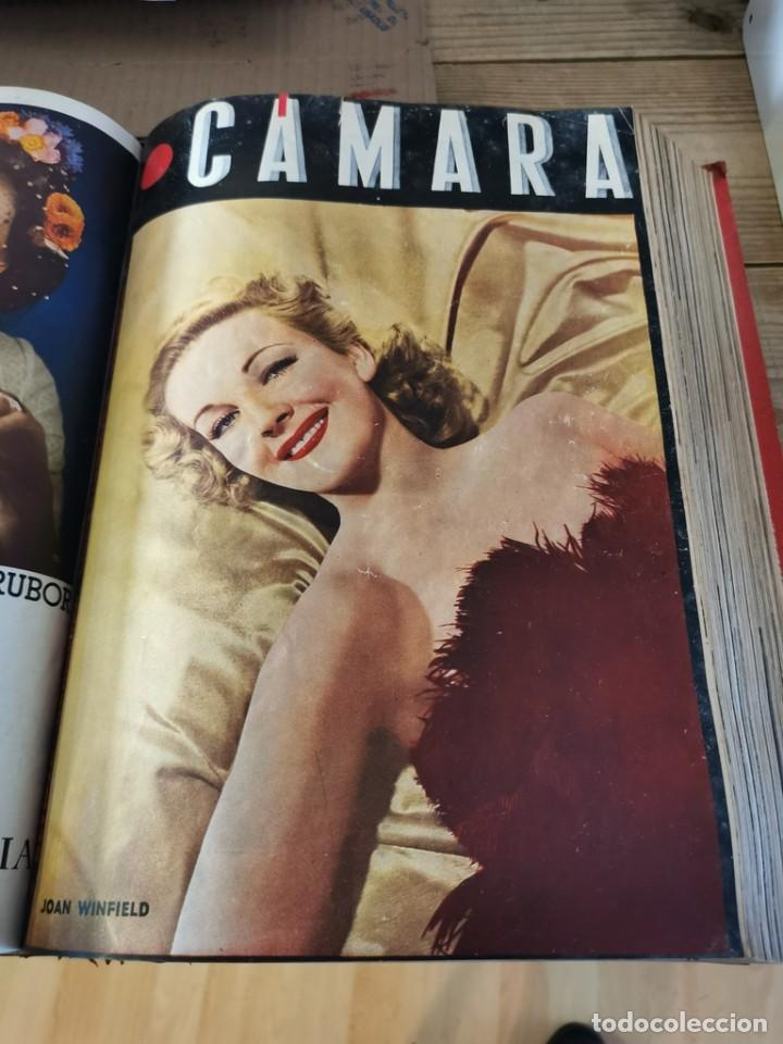 Cine: revista camara, encuadernada, año 1945 completo, nº 48 a 71, 24 revistas - Foto 14 - 253210455